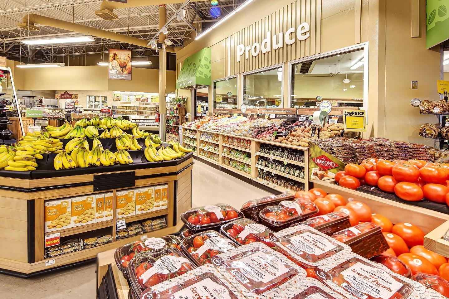 grocery store architecture design