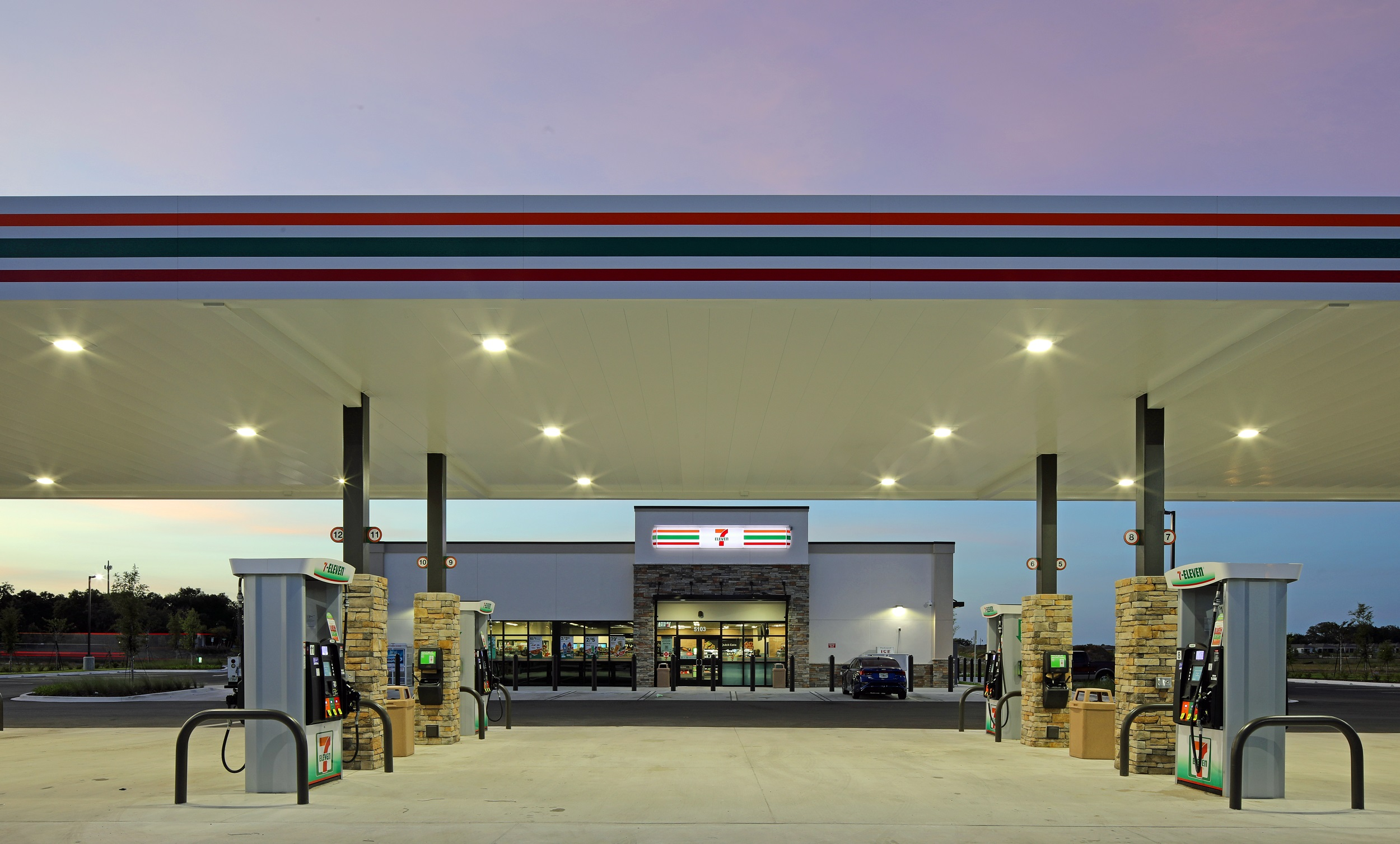 gas station architecture by gas station design architects